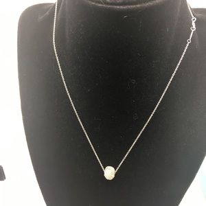 """Tiffany & Co.925 Knot Pendant On 16"""" Chain"""